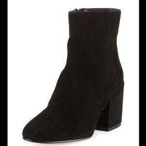 Sam Edelman Taye Suede Block Heel Boot - 8.5